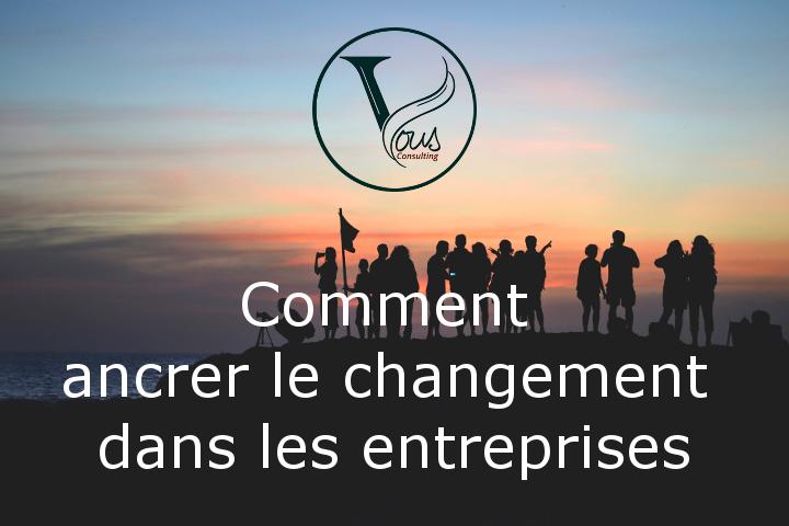 S'engager sur le chemin de la résilience pour ancrer le changement dans les entreprises