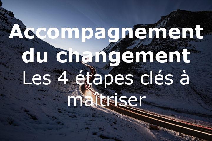 Accompagnement du changement : les 4 étapes clés à maîtriser